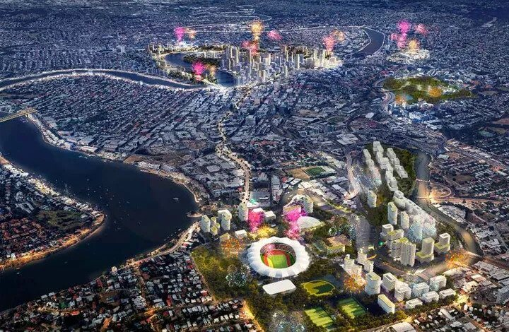 Olympics, Billion-Dollar Projects Brighten Brisbane Outlook (1)