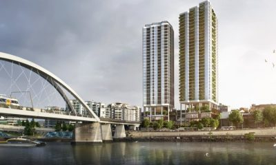 Twin-tower CBD development to restore heritage riverside residence