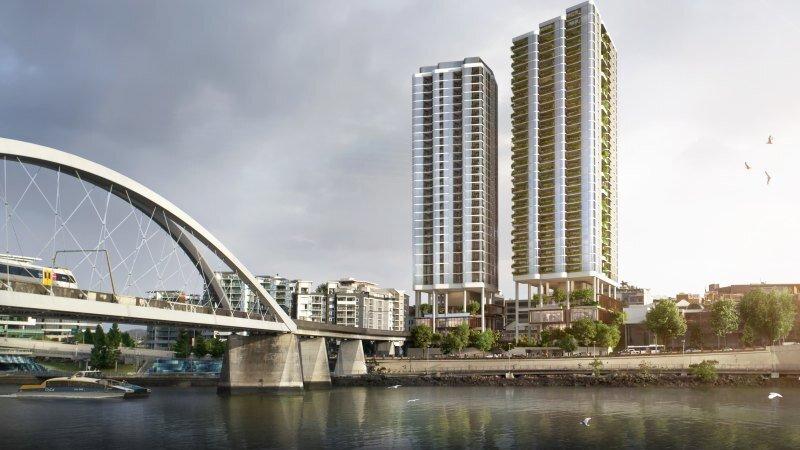 Twin-tower CBD development to restore heritage riverside residence