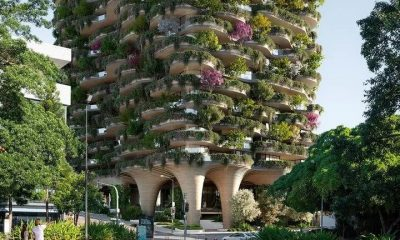 Aria Lodges Plans for 'Urban Forest' Tower (1)