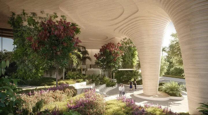 Aria Lodges Plans for 'Urban Forest' Tower (2)