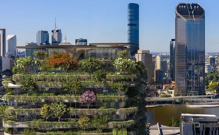 Aria Lodges Plans for 'Urban Forest' Tower (3)