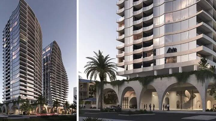 Burleigh Heads Twin 22-Storey Towers Approved (3)