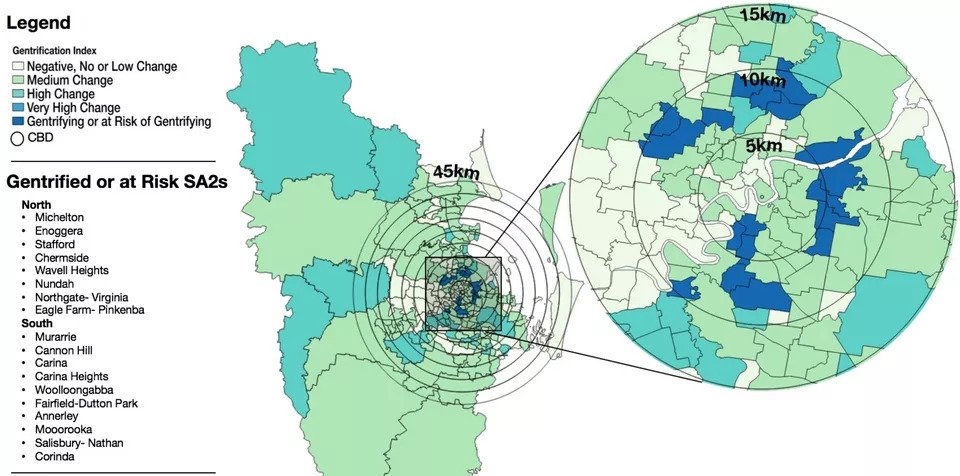 Gentrification Growing Beyond CBDs
