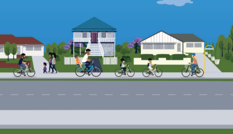 Cycling on Brisbane Bike Paths